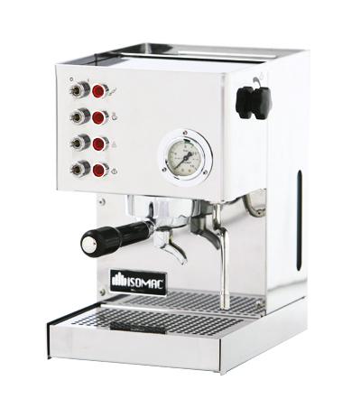 Isomac Venus Espressomaschine Edelstahl poliert