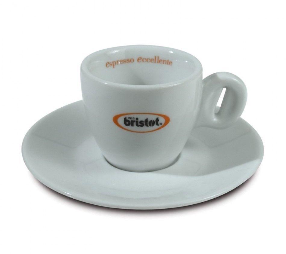 Bristot Espresso Tasse mit Unterteller
