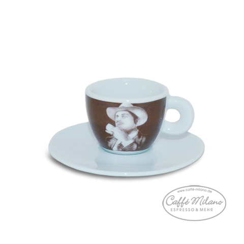 Lucaffe Espresso Tasse der Pate