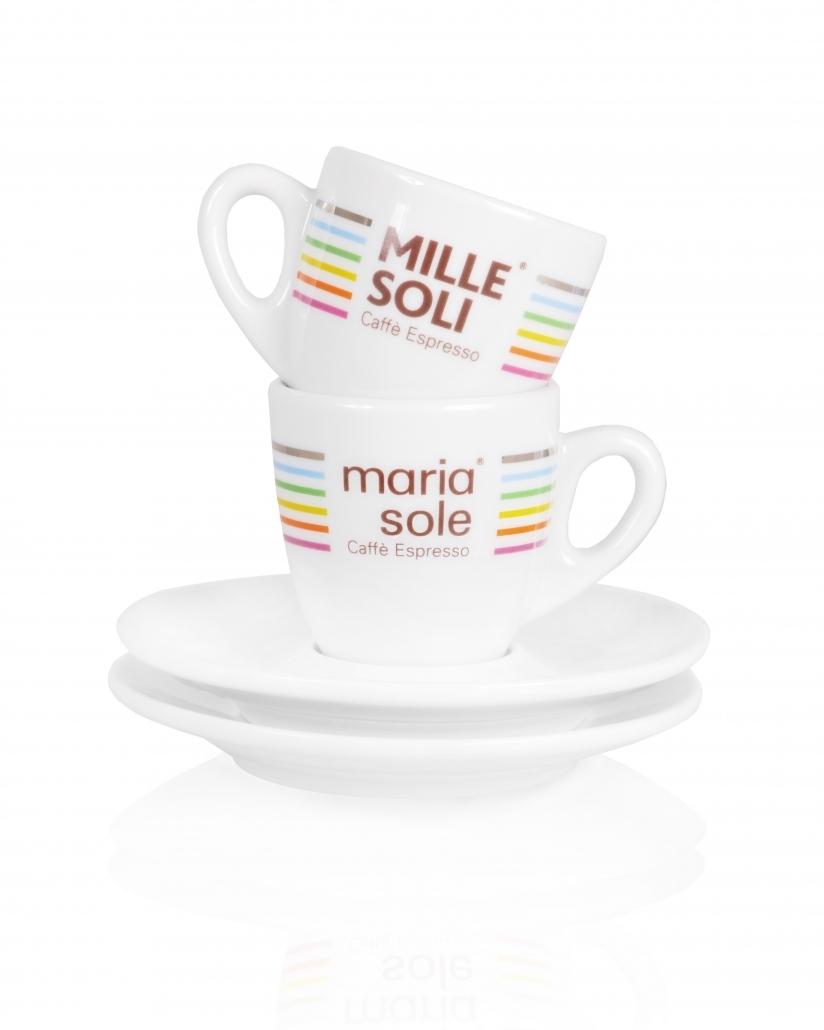 MariaSole Mille Soli MariaSole MilleSoli Espressotasse mit Unterteller
