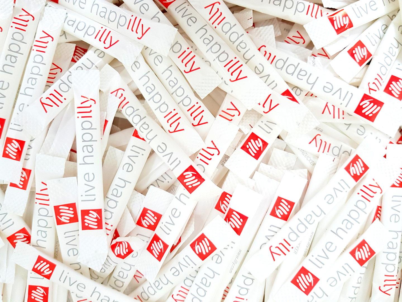 illy Zucker Sticks, 100 Stück