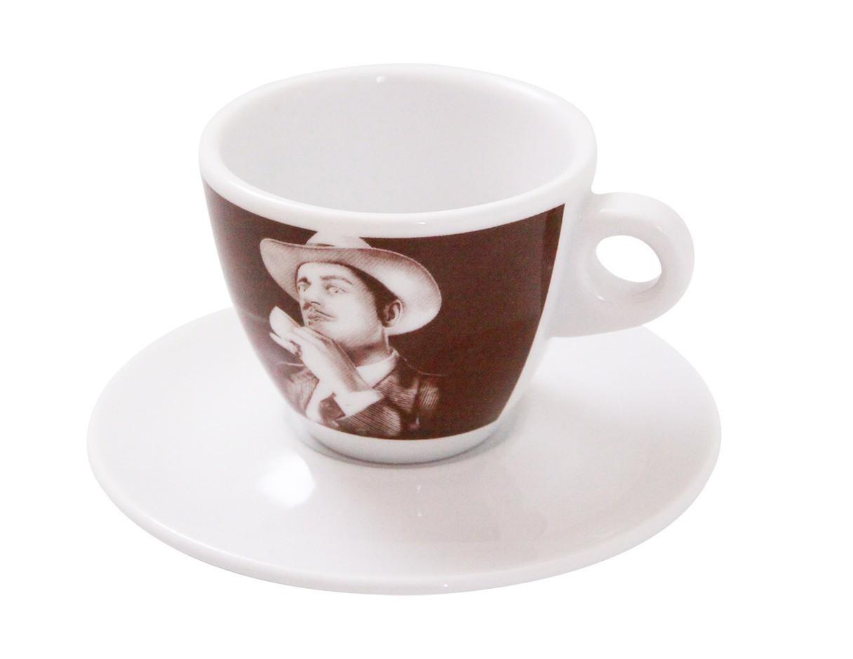 Lucaffe Cappuccino Tasse der Pate