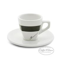 Poccino Cappuccino Tasse mit Unterteller