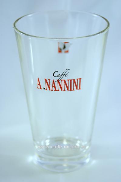 A. Nannini Nannini Latte Macchiato Glas