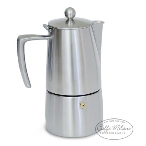 ILSA Slancio Espressokocher 10 Tassen matt - Caffe-Milano | {Espressokocher 58}