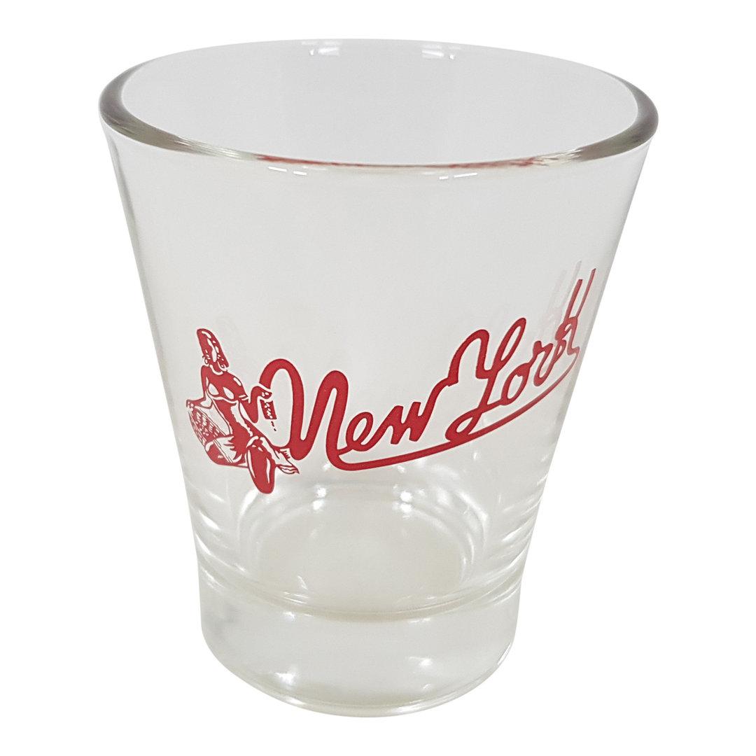 New York Espressoglas Wasserglas