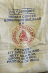 Kaffeesack - Jutesack - Indian Monsooned Malabar