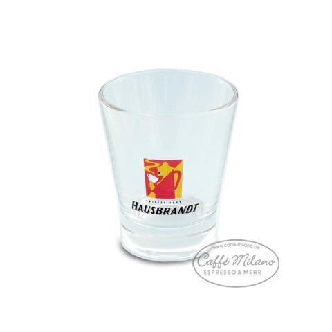 Hausbrandt Espressoglas Wasserglas