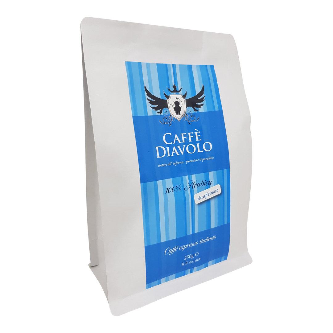 Caffe Diavolo entkoffeiniert, ganze Bohne