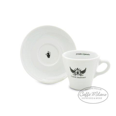 Caffe Diavolo Cappuccino Kaffee Tasse