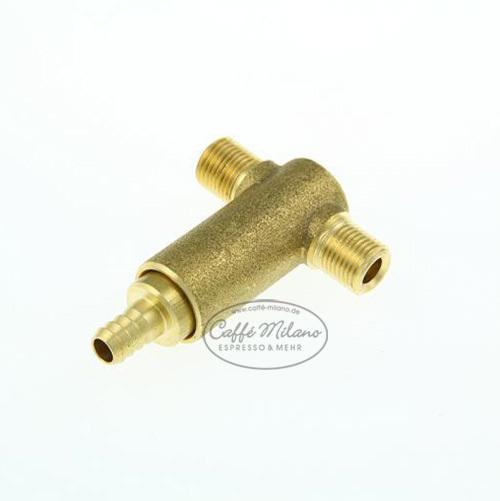 Isomac Pumpenüberdruckventil