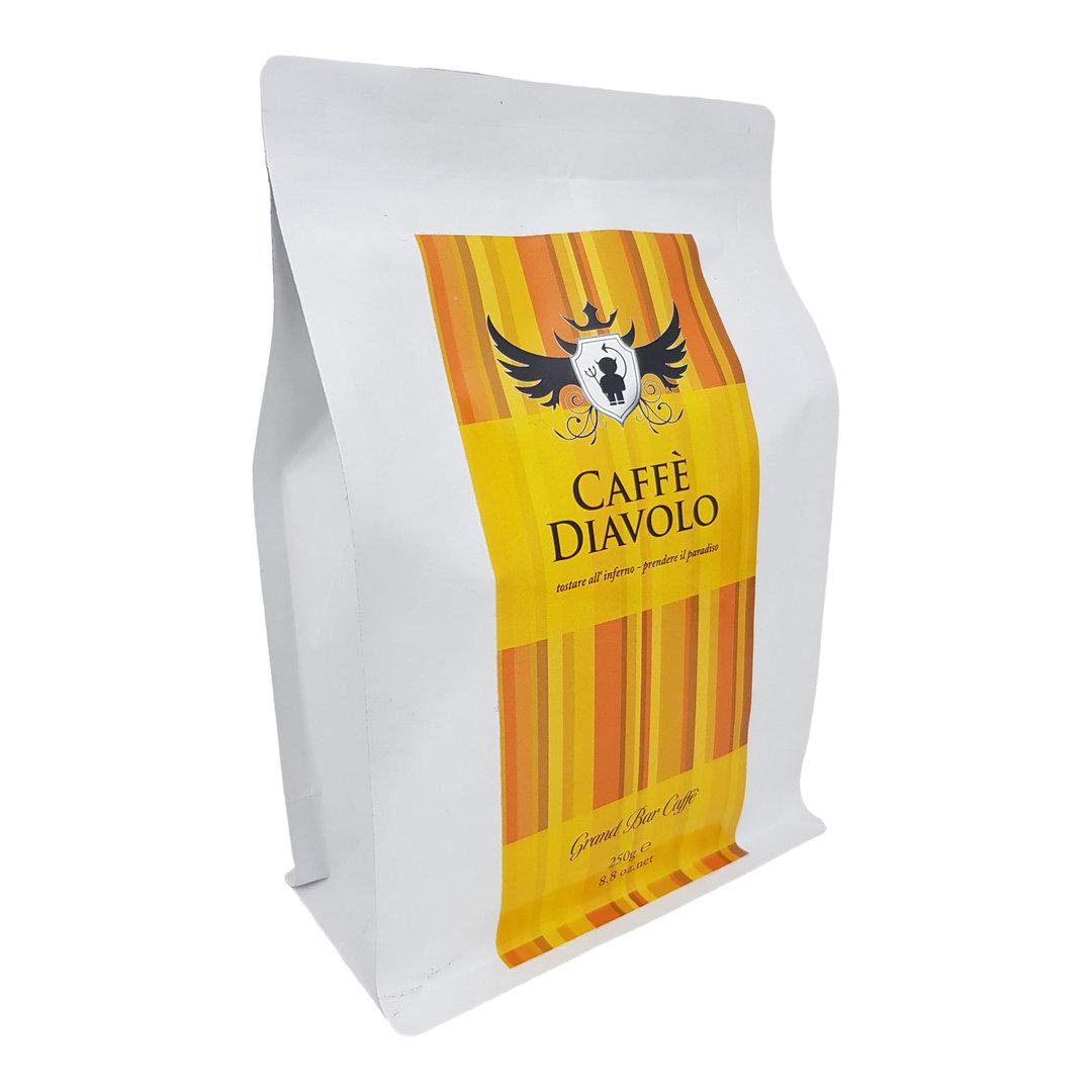 Caffe Diavolo Gran Bar, gemahlen