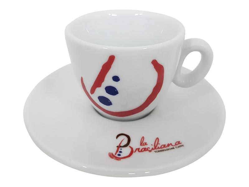 La Brasiliana Espresso Tasse mit Unterteller