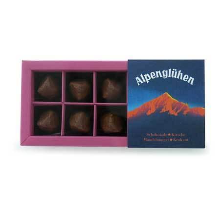 Chocolaterie Amelie Alpenglühen Confiserie-Pralinen,120g
