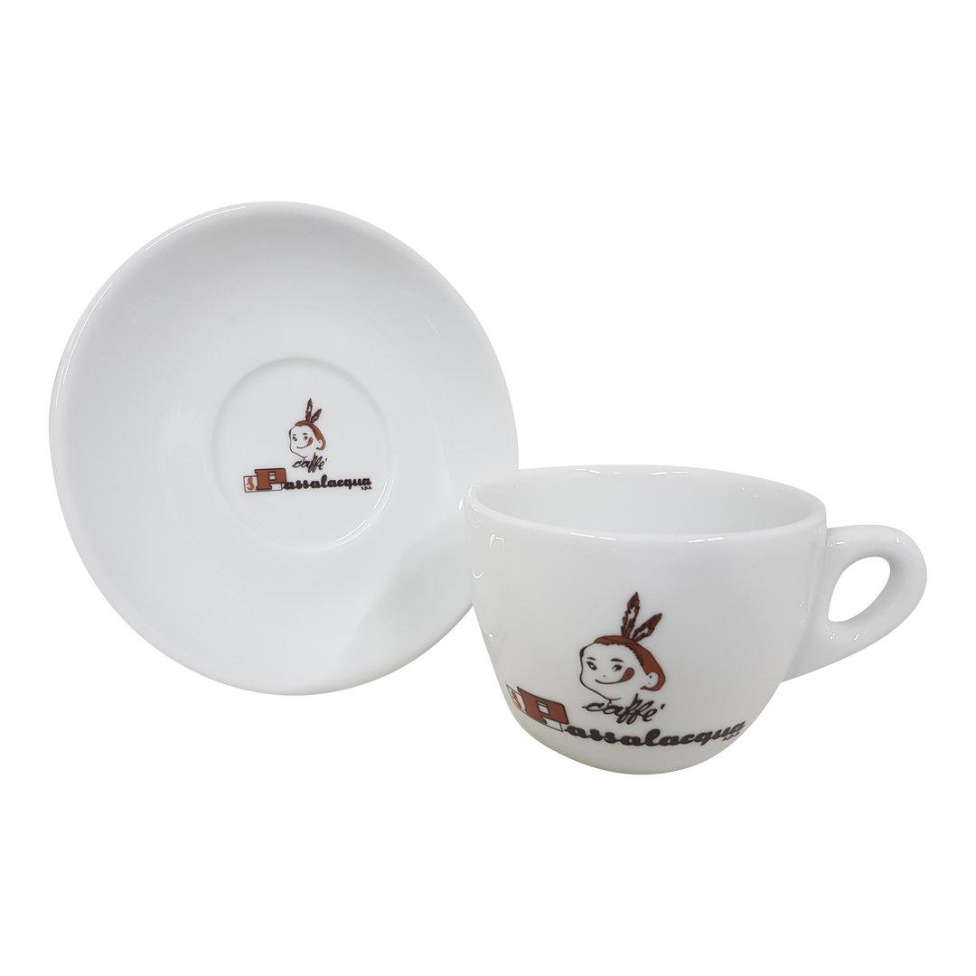 Passalacqua Caffe Passalacqua Cappuccino Tasse