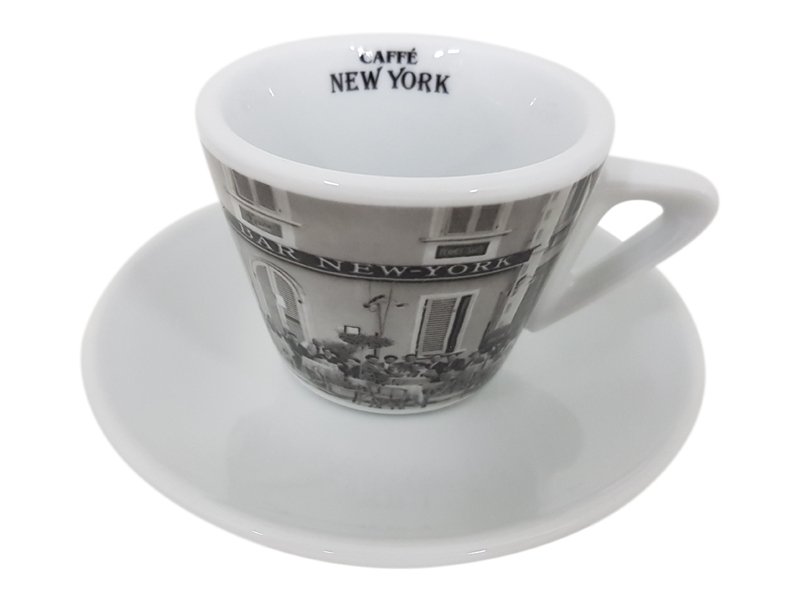 Caffe New York New York Cappuccinotasse Bar