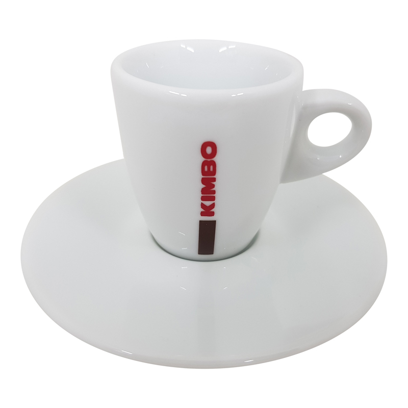 Kimbo Espressotasse mit Unterteller