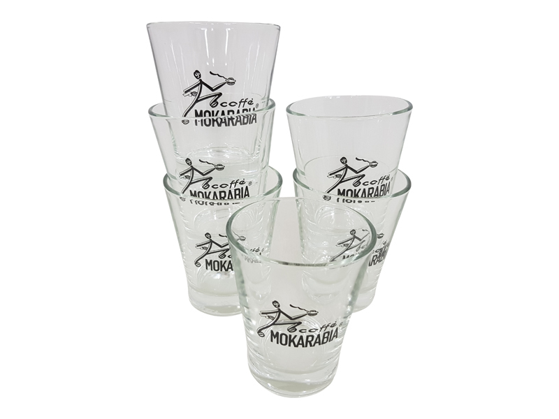 Mokarabia Espresso - Wasser - Shotgläser