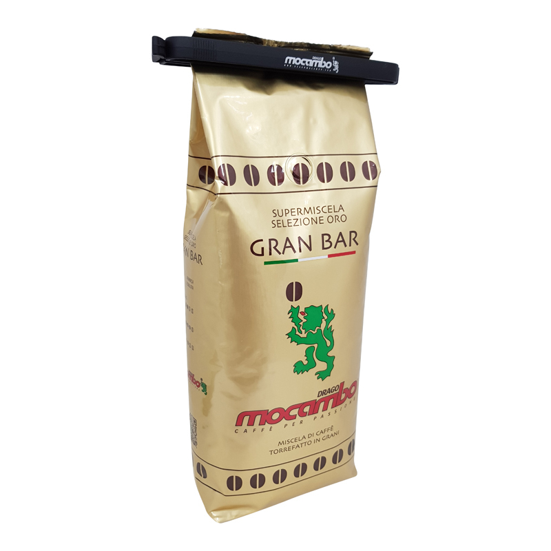 Mocambo Gran Bar Oro mit Kaffeeklammer, 1000g.