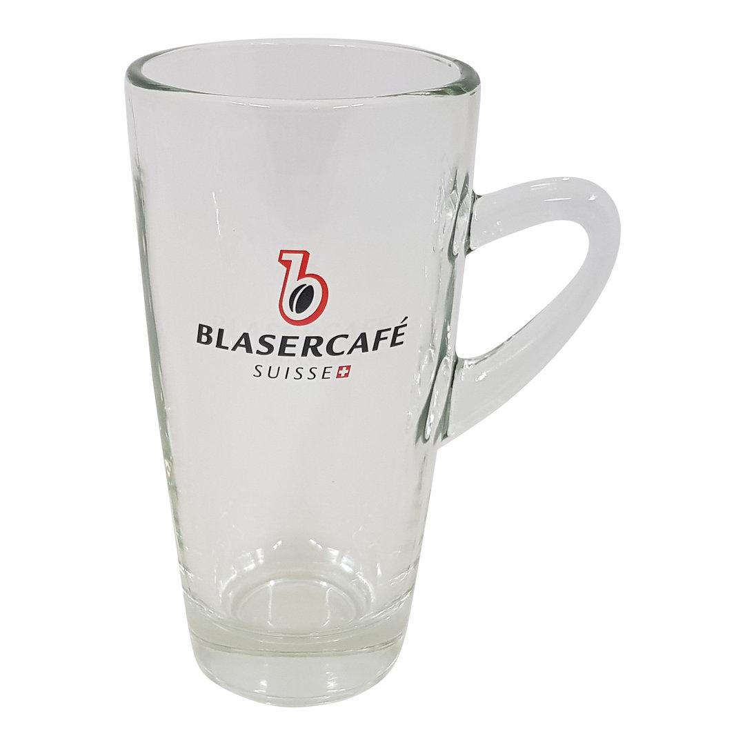 Blasercafé Blasercafe Latte Macchiato Glas mit Griff
