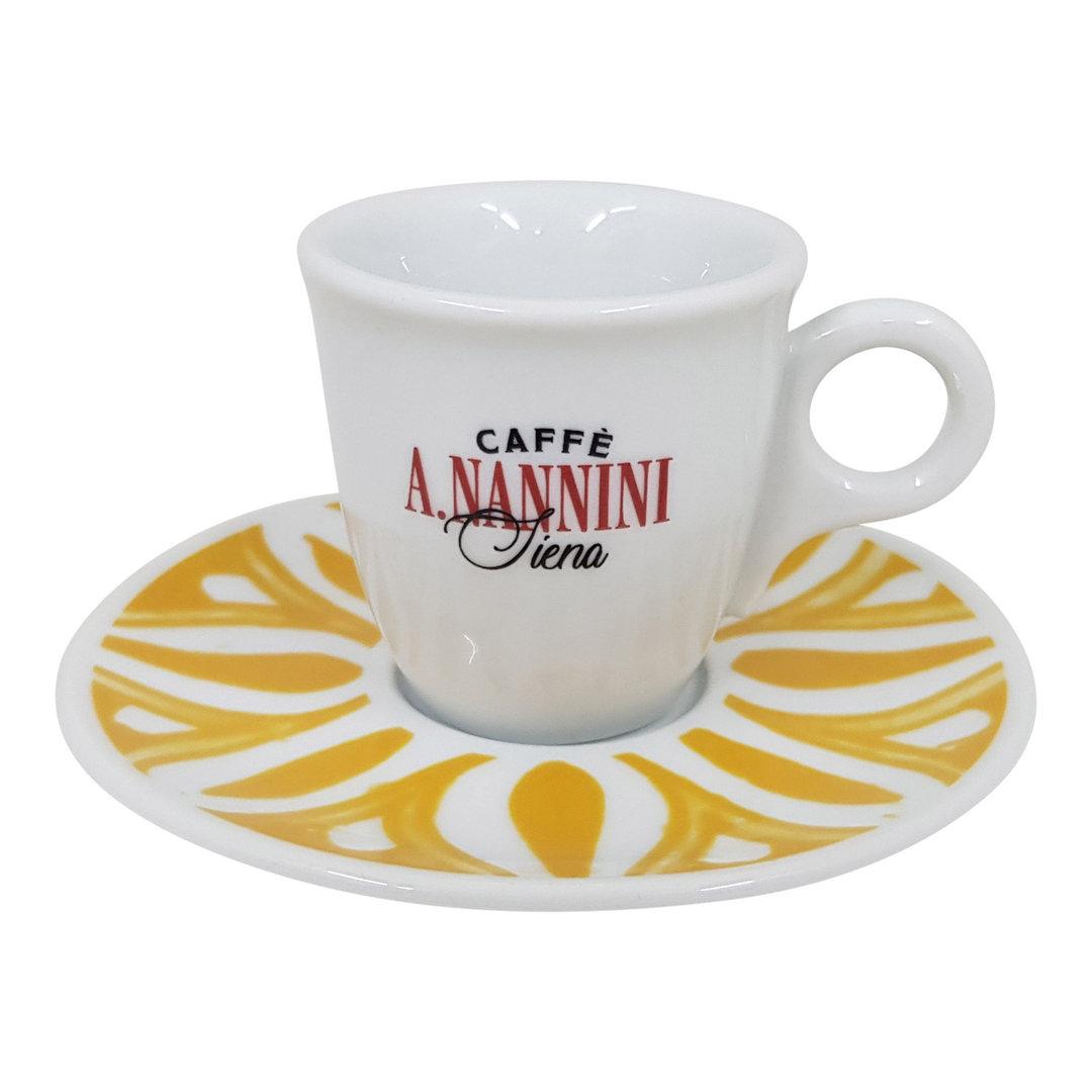 A. Nannini Nannini Espressotasse gelb